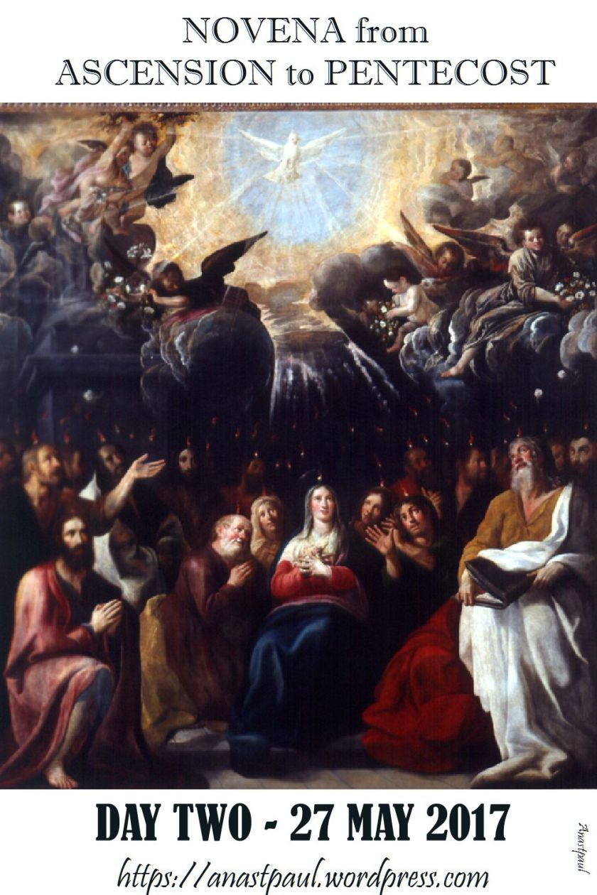 day tow novena ascension to pentecost