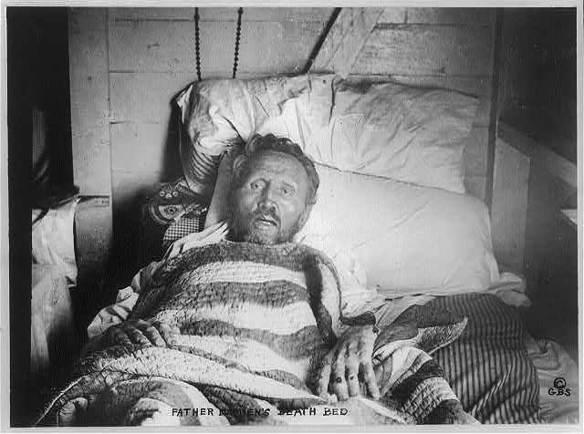Father-Damien-on-his-death-bed-BIOG-FILE-Damien-Father-18401-889___-painting-artwork-print