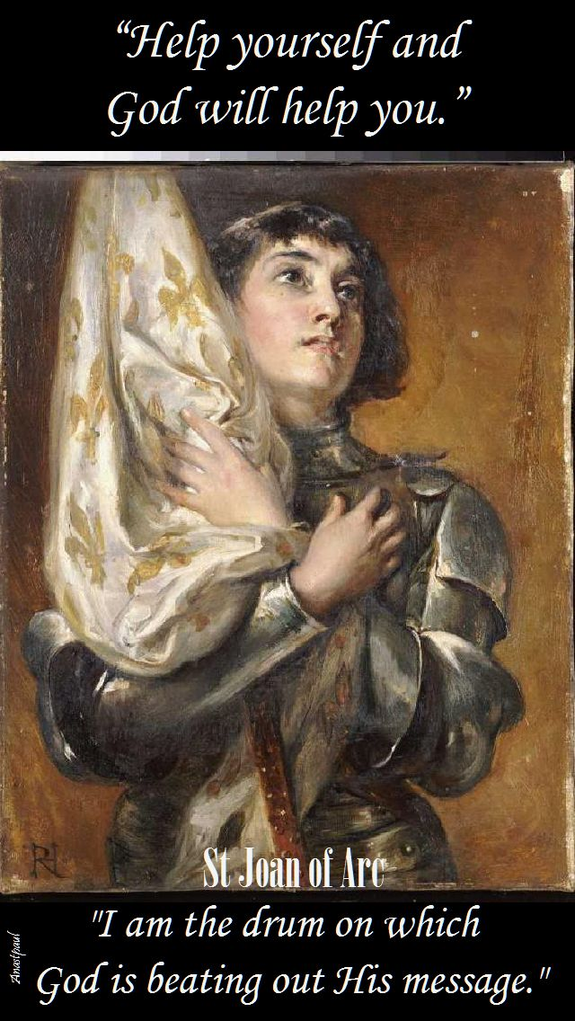 help yourself-st joan of arc