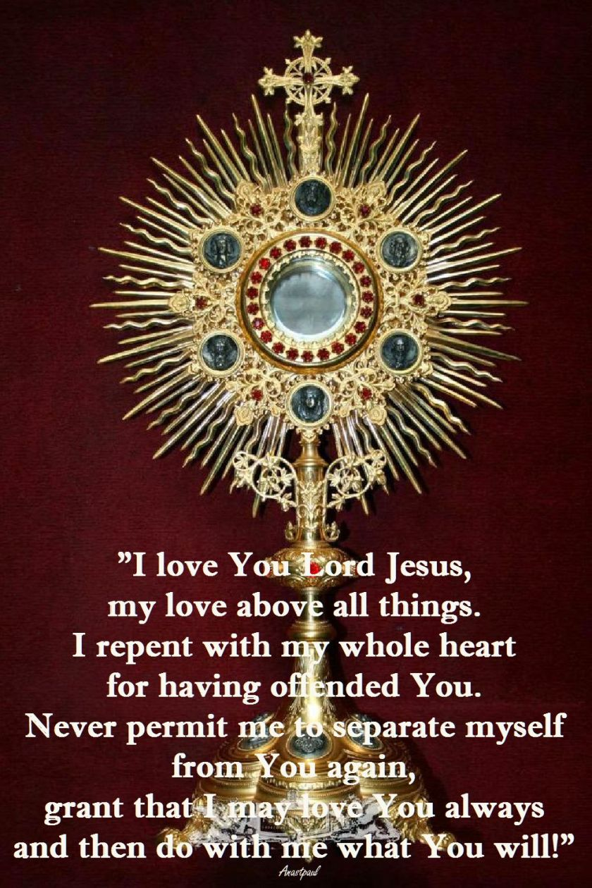 I LOVE YOU LORD JESUS