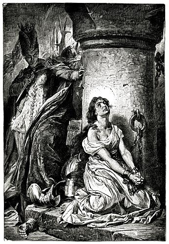Joan Of Arc In Jail