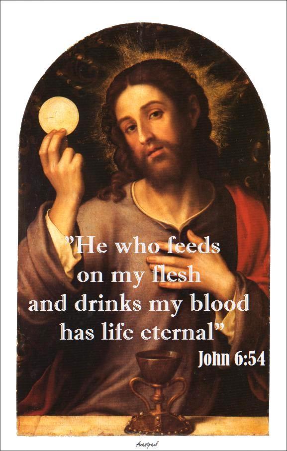 JOHN 6-54