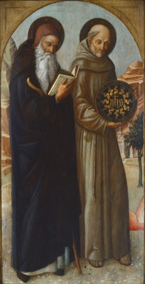 ST ANTHONY ABBOT AND BERNARDINE