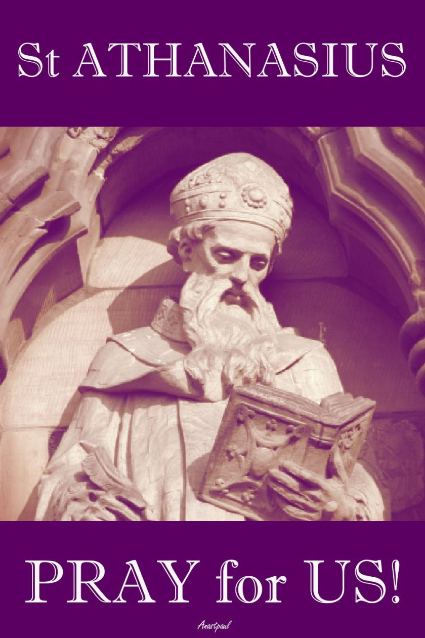 st athanasius pray for us