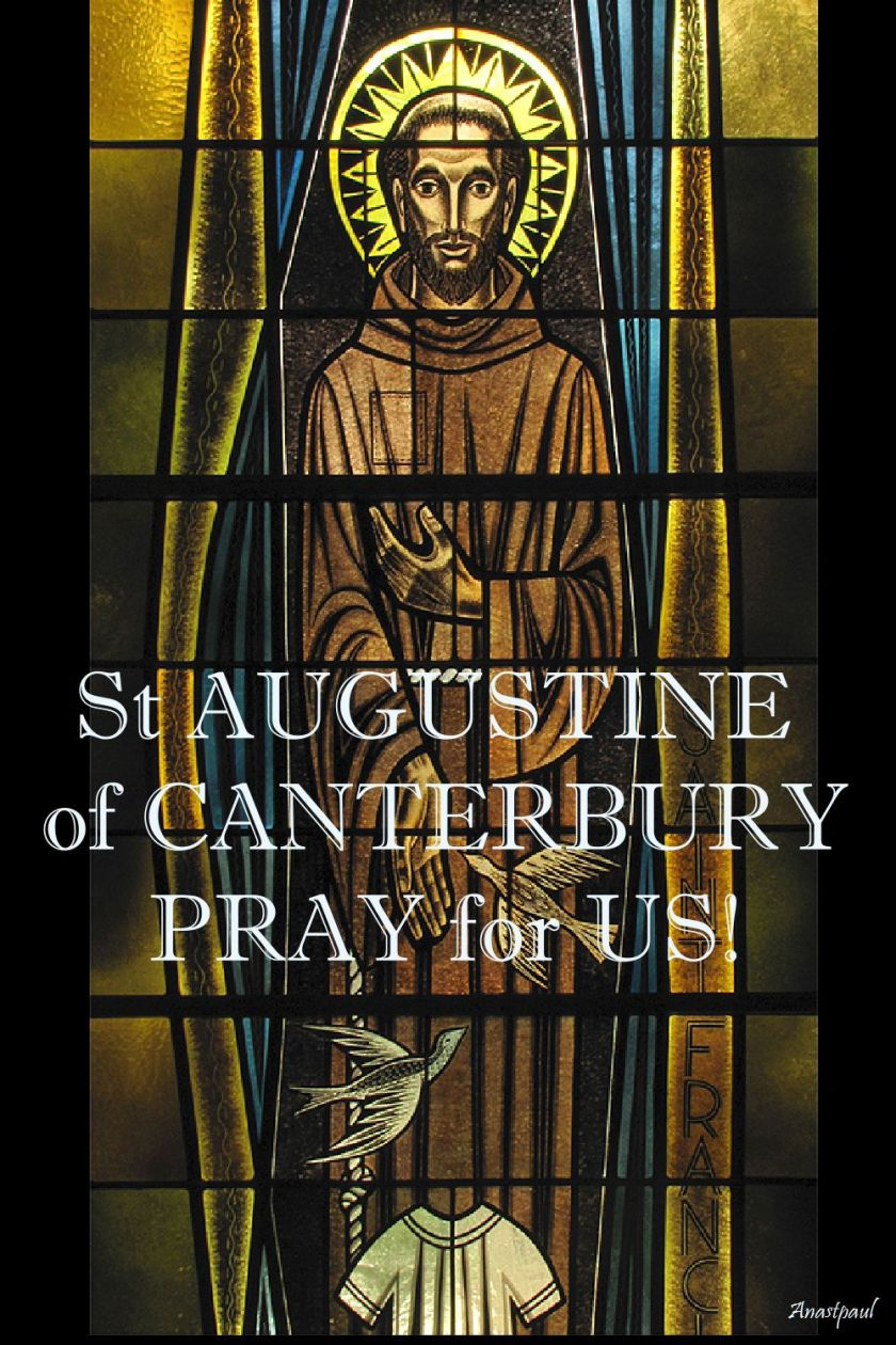 st augustine of canterbury pray for us