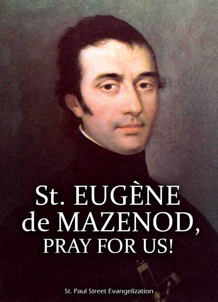 ST EUGENE DE MAZENOD - MAY 21
