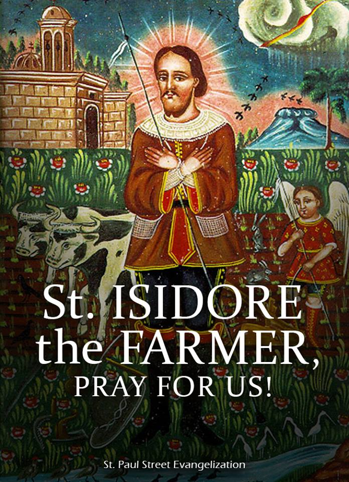 ST ISIDORE THE FARMER - MAY 15