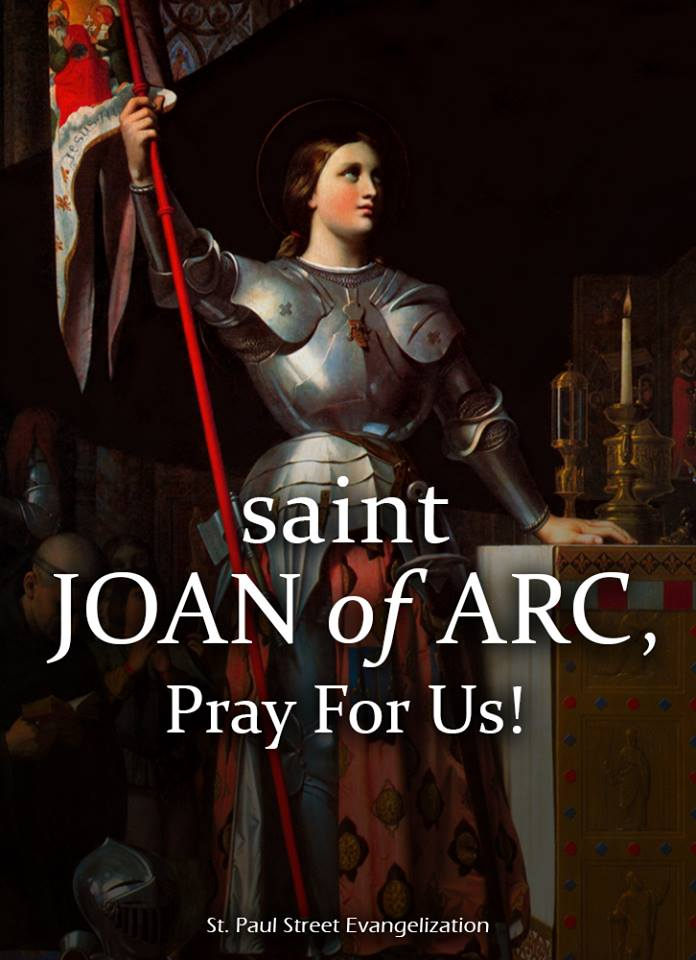 ST JOAN OF ARC - MAY 30
