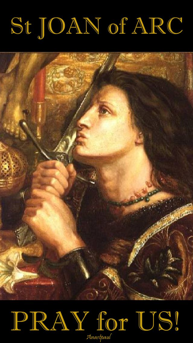 st joan of arc pray for us 2