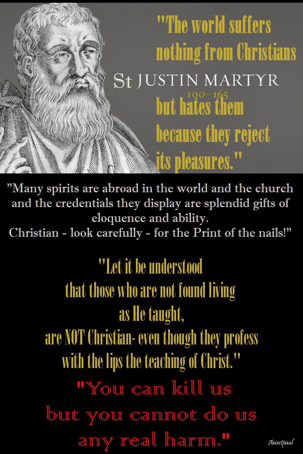 ST JUSTIN QUOTES OF THE DAY 1 JUNE