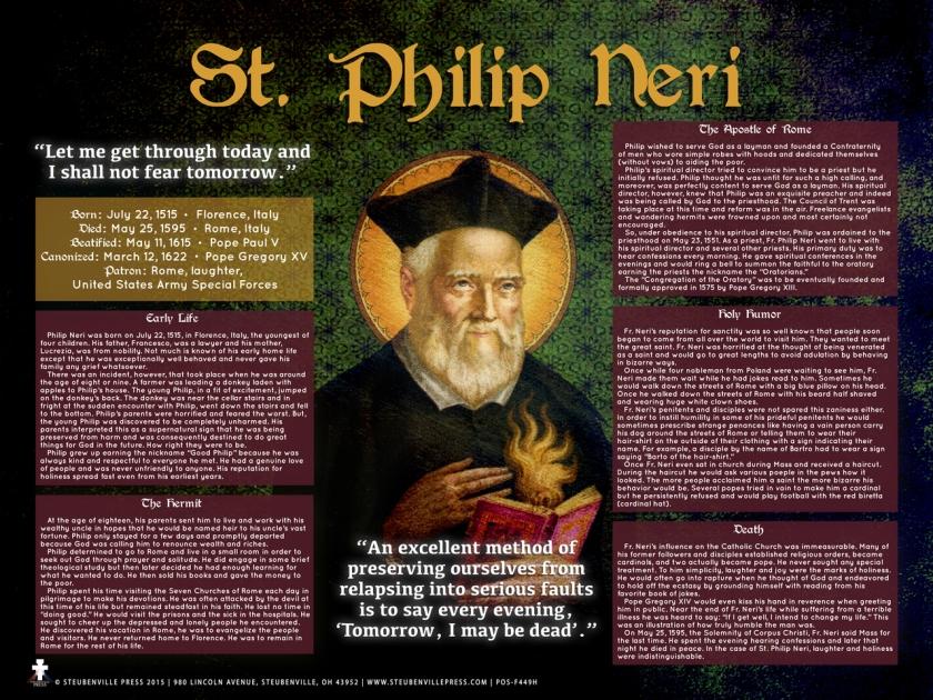 St Philip Neri - 26 May.JPG 1A