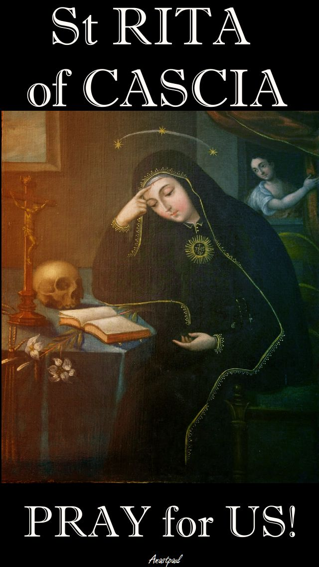 st rita pray for us