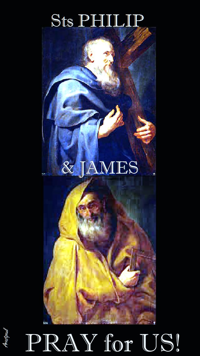STS PHILIP AND JAMES PRAY FOR US 2