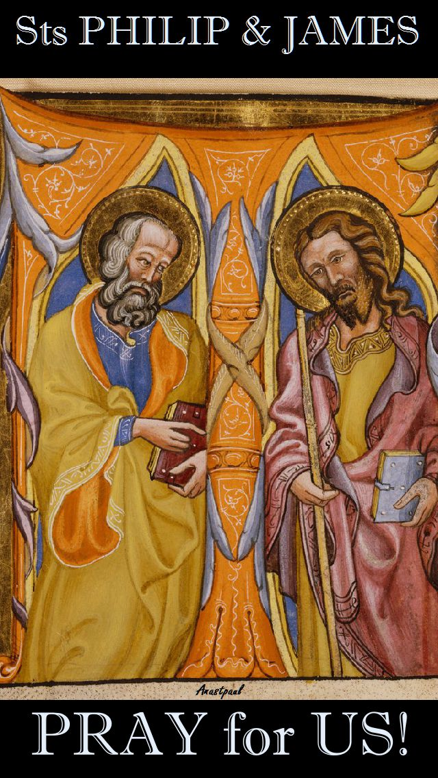 STS PHILIP AND JAMES PRAY FOR US