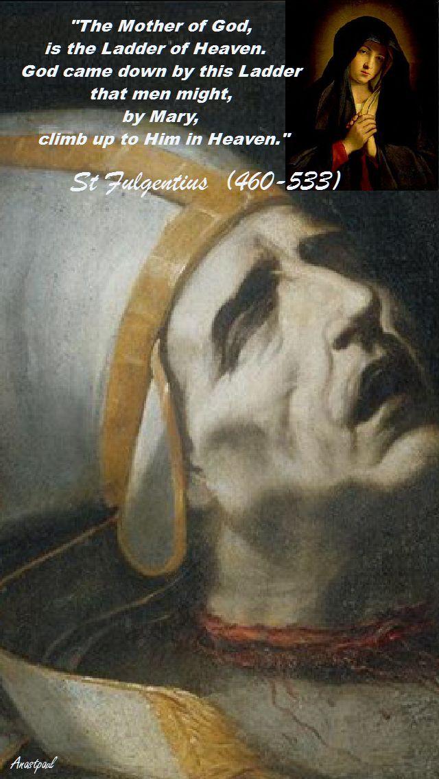 THE MOTHER OF GOD-ST FULGENTIUS