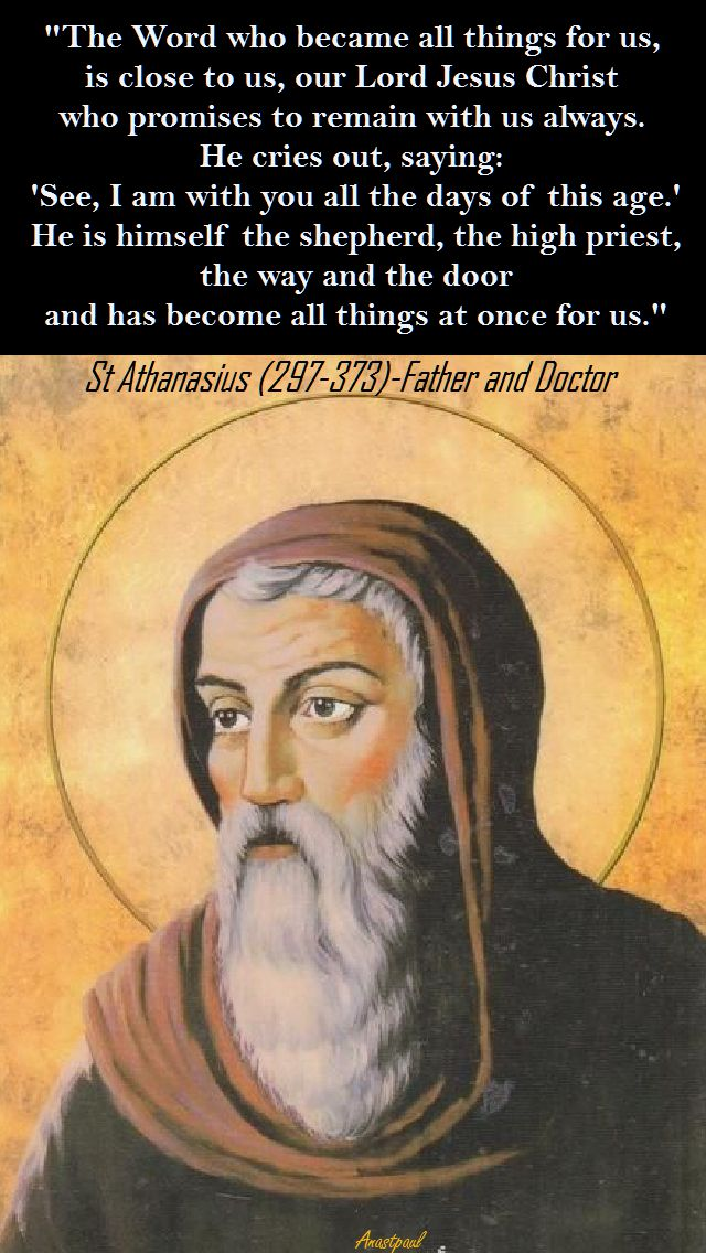 THE WORD HAS BECOME-ST ATHANASIUS