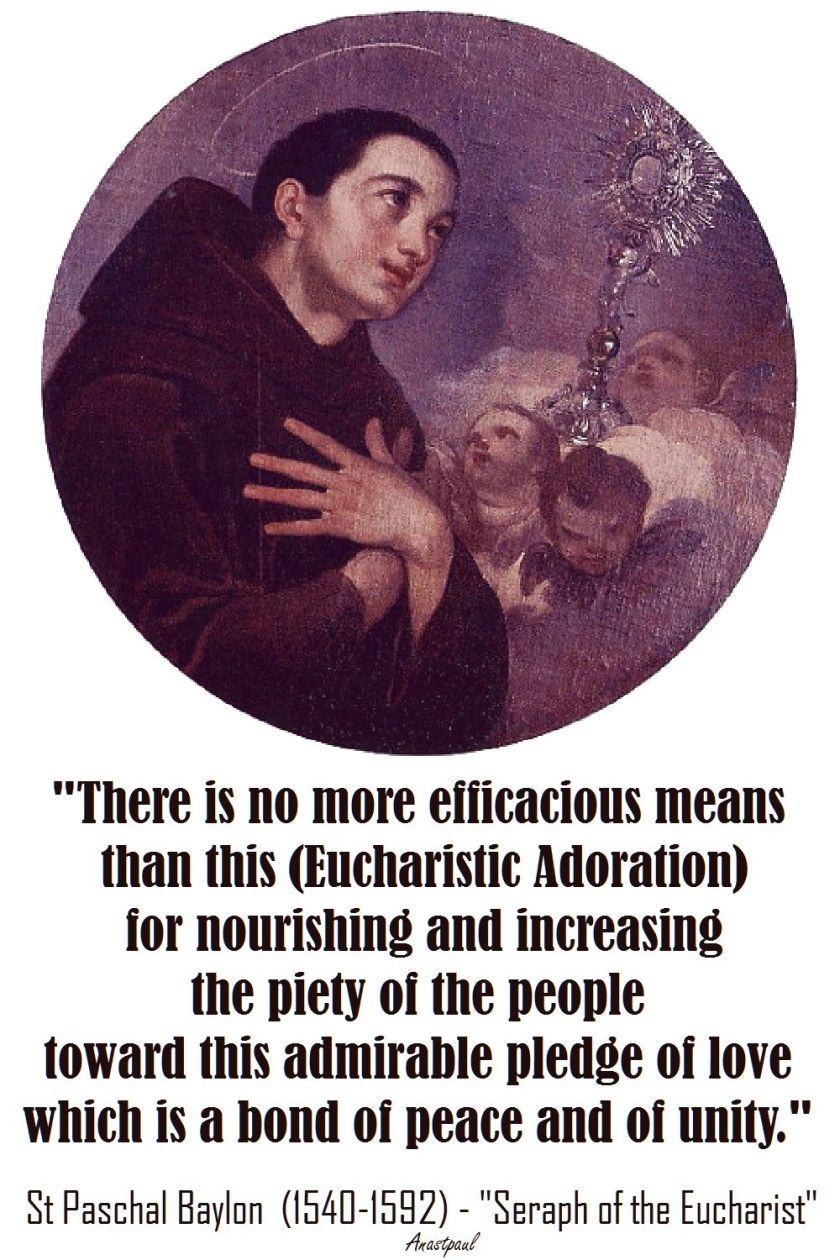 there is no more efficacious means-st baylon
