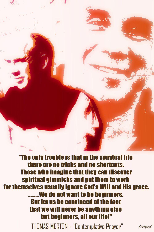 THOMAS MERTON ON CONTEMPLATIVE PRAYER NO 1