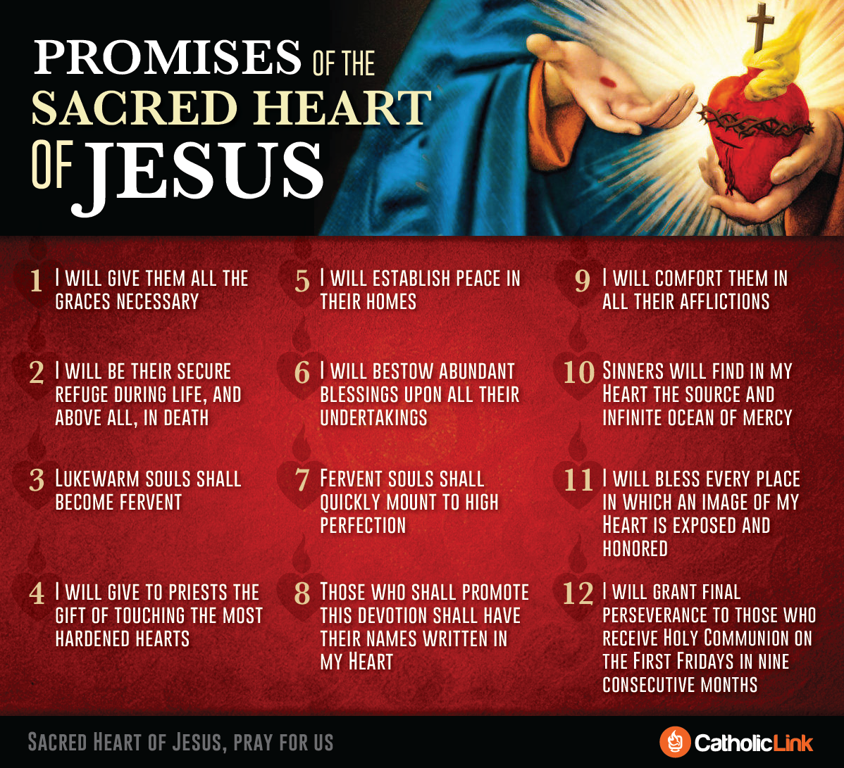 12 promises of the sacred heart
