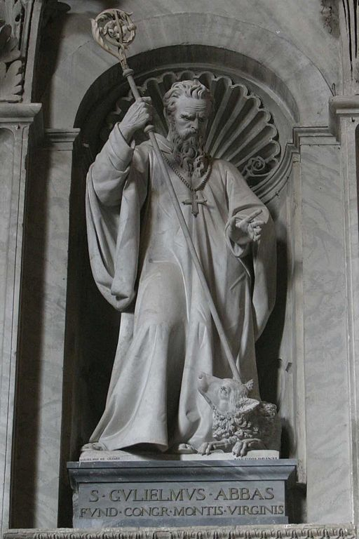 512px-StWilliam of Vercelli -FounderSaint
