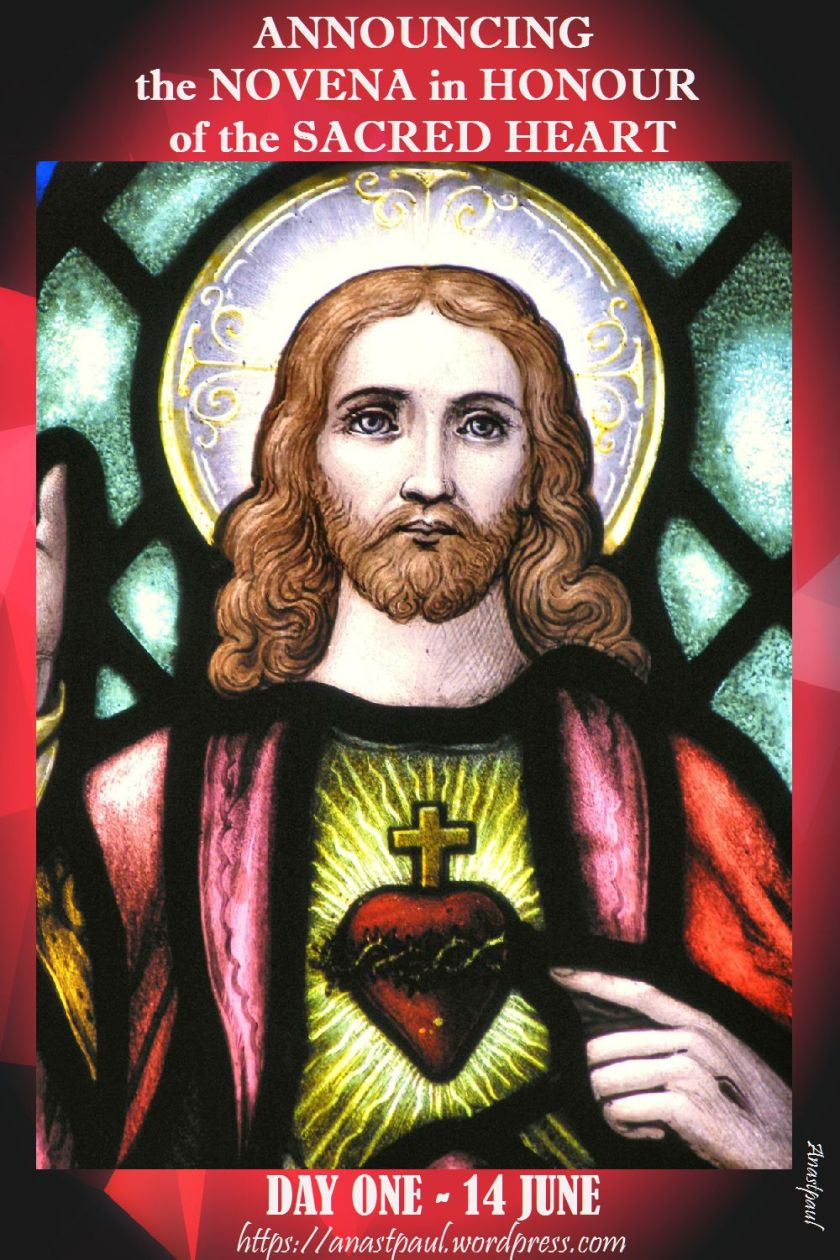 ANNOUNCING the novena to the sacred heart - 14 June to begin.jpg