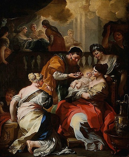 Birth of John the Baptist Francesco Solimena 1690. The Met, NY.