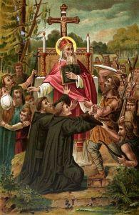 Boniface-martyred