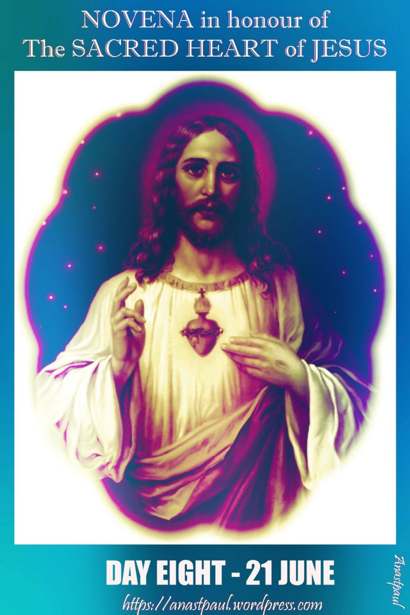 DAY EIGHT - NOVENA SACRED HEART