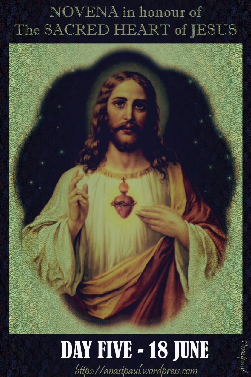 DAY FIVE NOVENA TO THE SACRED HEART