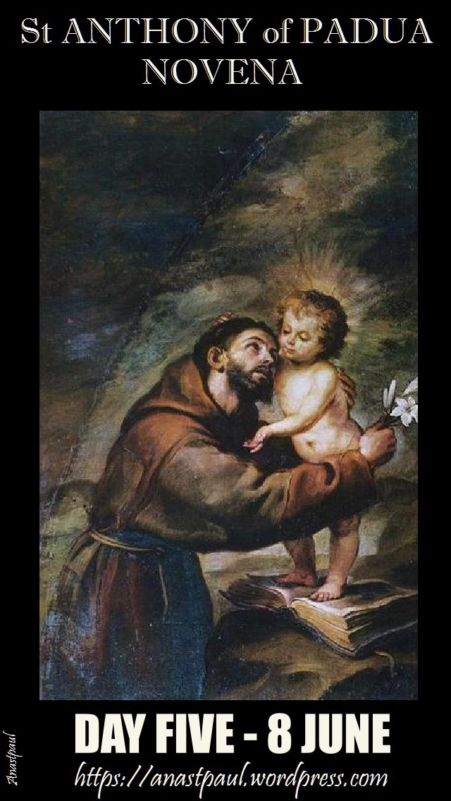 day five st anthony novena