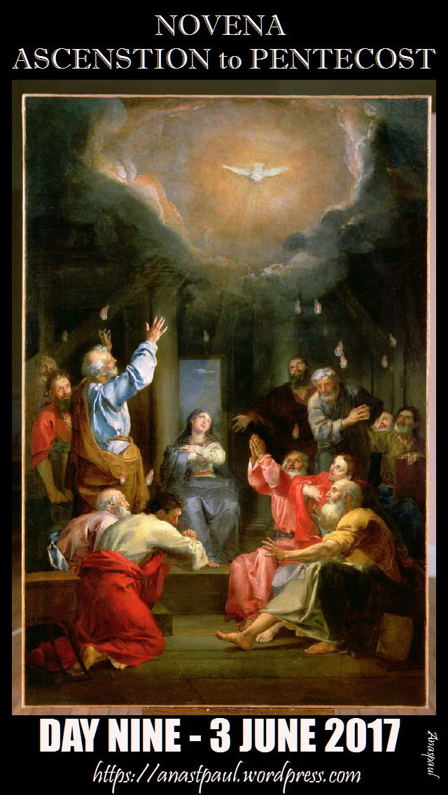 day nine novena ascension to pentecost