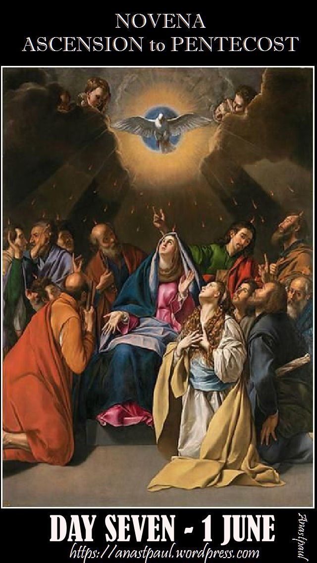 day seven ascension to pentecost