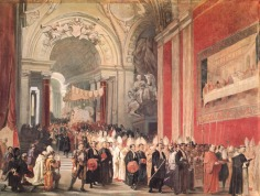 Ferdinando Cavalleri, Corpus Christi Procession with Pope Gregory XVI in the Vatican