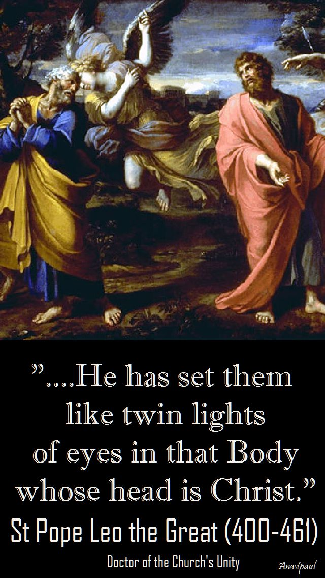 he has set them like twinlight - st pope leo the great