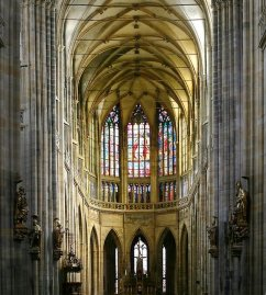 Inside-The-St.-Vitus-Cathedral-In-Prague-Castle