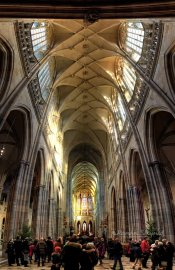 Inside-The-St.-Vitus-Cathedral-Prague