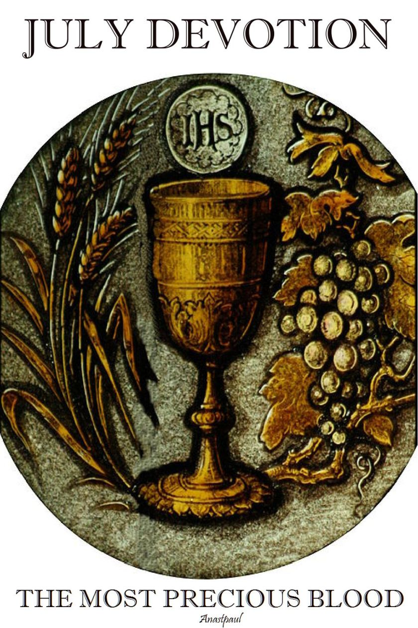 july devotion - the mos pecrous blood