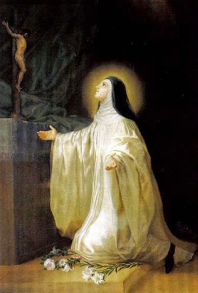 SANTA LUTGARD - Santa_Lutgarda-Goya