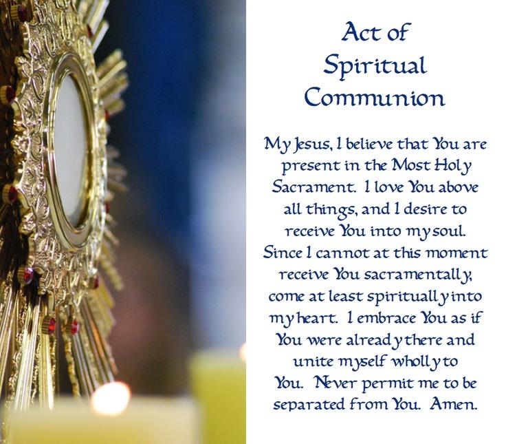 spiritual-communion