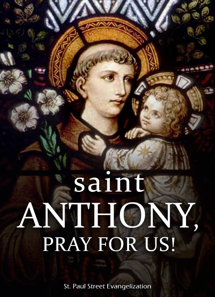 ST ANTHONY OF PADUA - JUNE 13