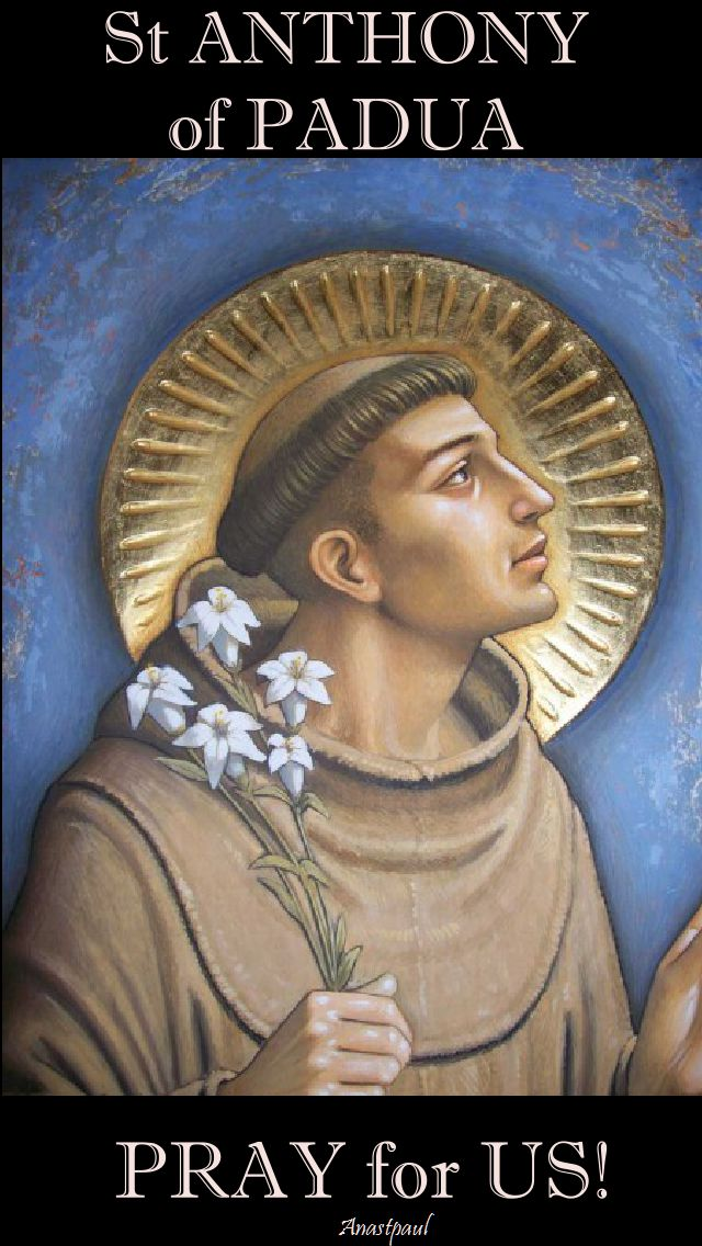 st anthony pray for us 2