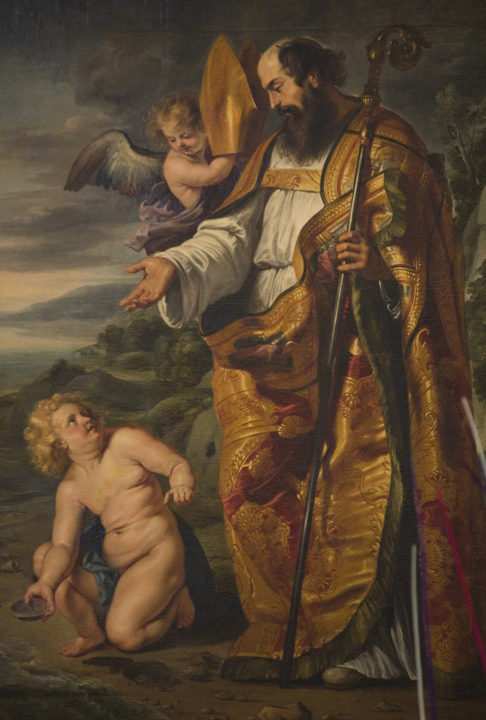 ST AUGUSTINE AND THE CHILD