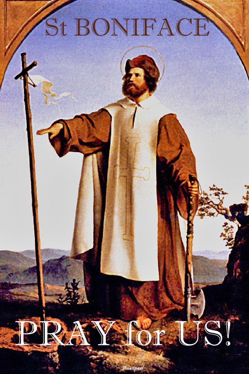 st boniface pray for us