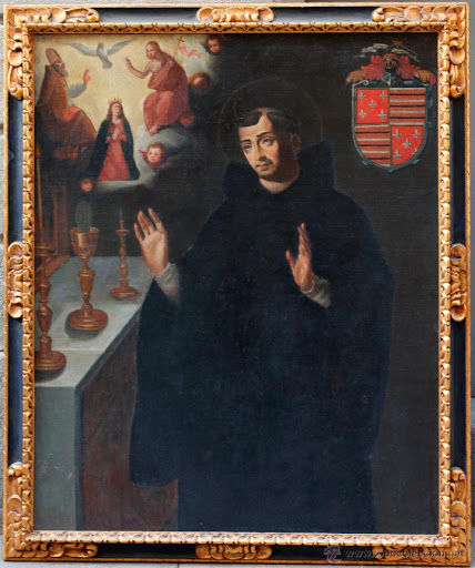 st juan of sahagun FRAMED