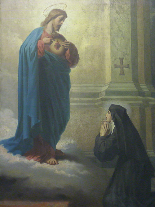 st margaret mary and the sacred heart of jesus