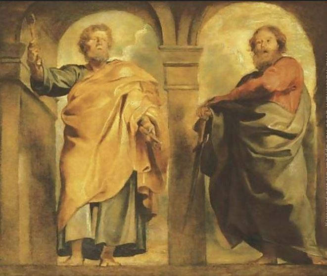 sts peter and paul - snip