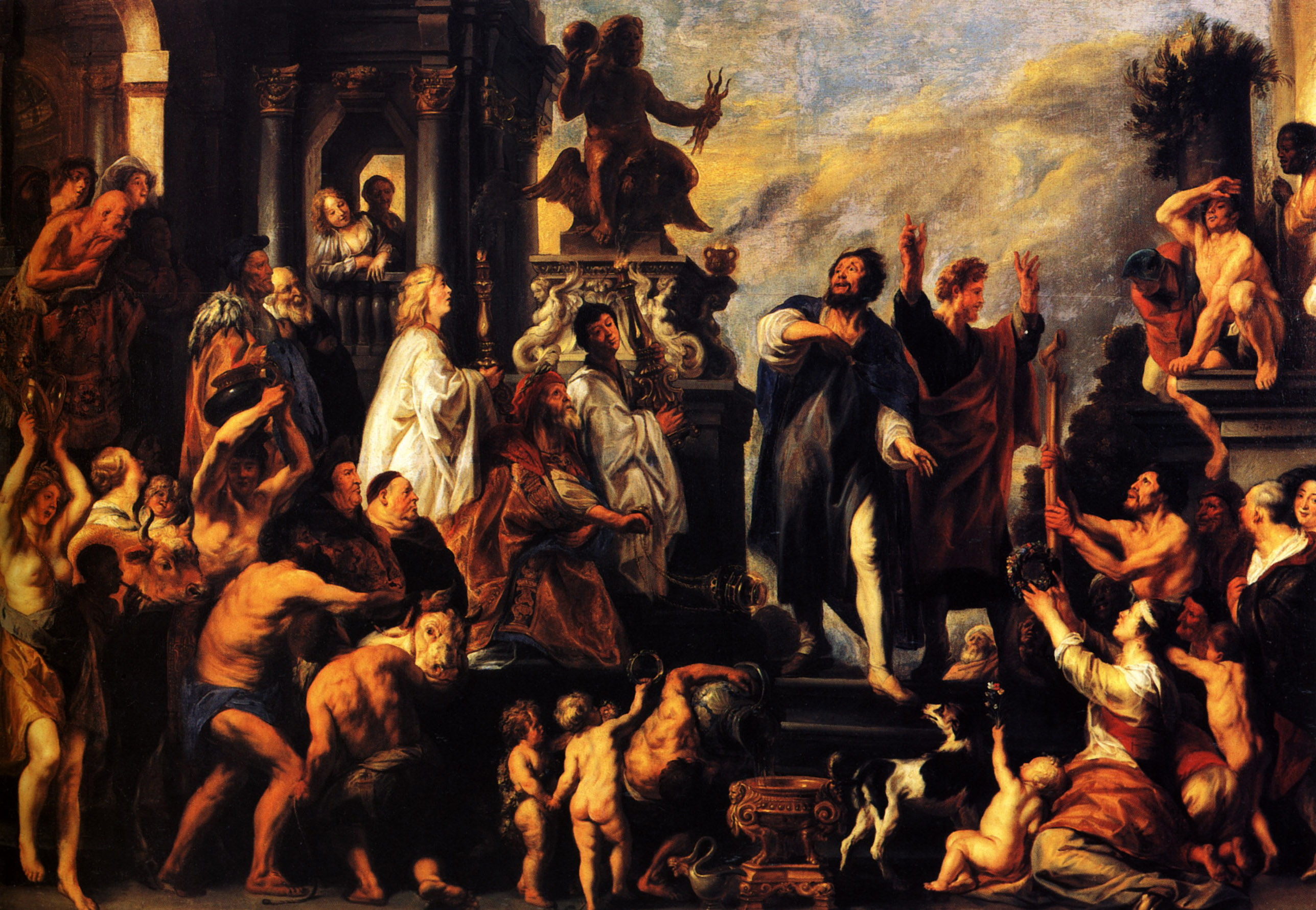 the-apostles-st-paul-and-st-barnabas-at-lystra-1645