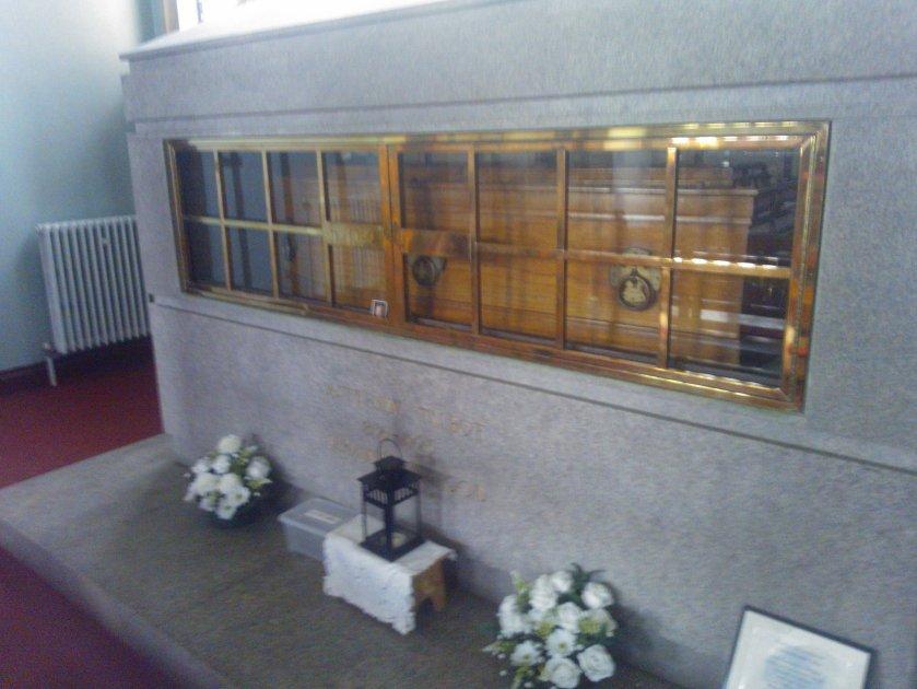 ven matt talbot coffin