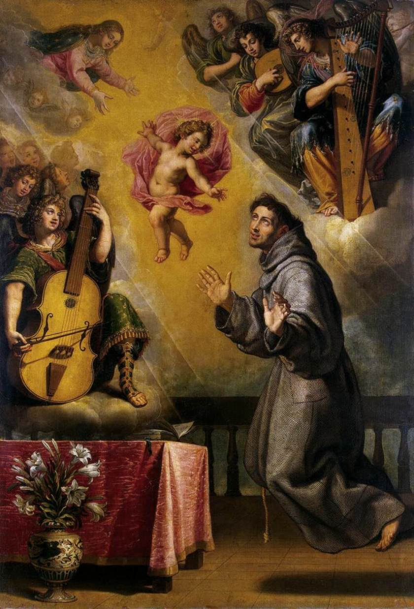 Vicente_Carducho_-_The_Vision_of_St_Anthony_of_Padua_-_WGA4211