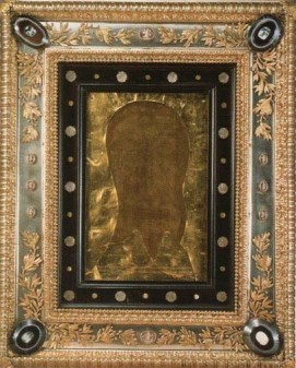 An exact copy of the original Veronica's veil made in 1617 during the reign of Pope Paul V